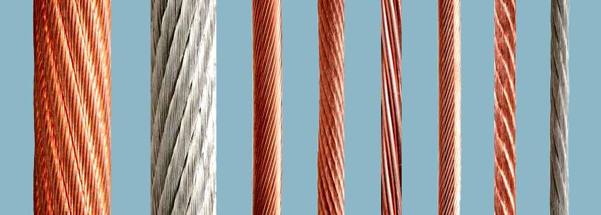 هشدار ایمنی, سیم و کابل ساختمانی, سیم و کابل, آلومینیوم, مس, کابل برق, ویژه